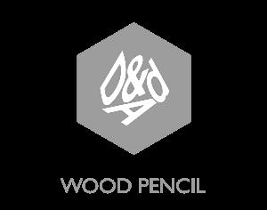 D&AD Wood pencil